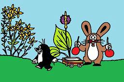 Krecik i królik