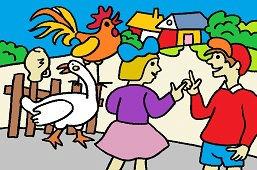 Wakacje szkolne we wsi