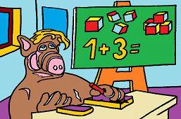Alf w szkole