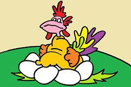 Kura i jajka