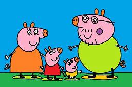 Peppa i cała rodzina