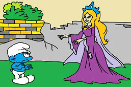 Smerf i księżniczka