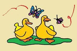 Žółte kaczki