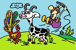 Rolnik i koza