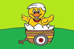 Kurczak na wózku
