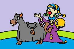 Pajac i koń