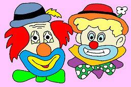 Dwóch klaunów