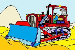 Spychacz bulldozer