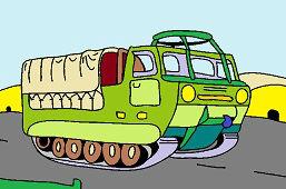 Wojskowy transporter