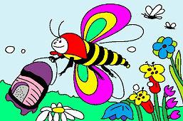 Pracowita pszczoła