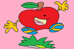 Skakające jabłko