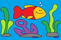 Ryba i kotwica