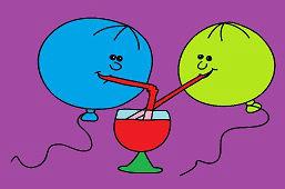 Karnawałowe baloniki