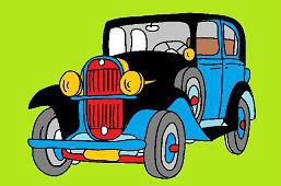 Starszy samochód