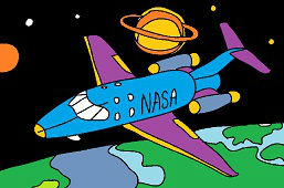 Rakieta kosmiczna NASA