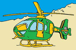 Wojskowy helikopter