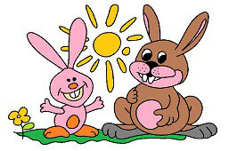 Wesołe króliki