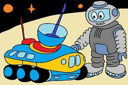 Robot w kosmosie