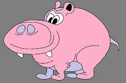 Różowa świnia