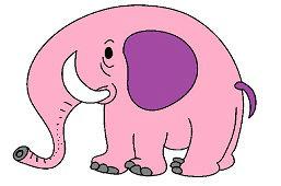 Niebieski słoń