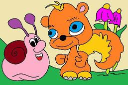 Ślimak i wiewiórka