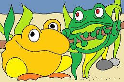 Żaby sąsiedzi