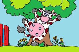 Wesoła krowa