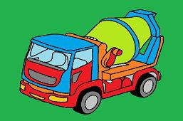 Samochód Betoniarka