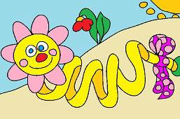 Gąsienica słońcem