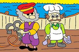 Rudy kapitan i kucharz