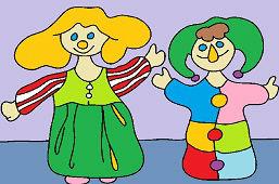 Lalka i clown