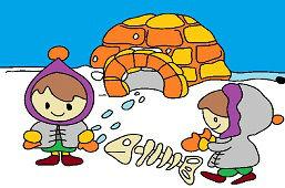 Dzieci Eskimo