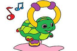 Nadmuchiwany żółw