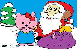 Kitty i Santa