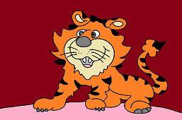 Prawdziwy przyjaciel tygrys