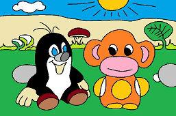 Kret i małpa