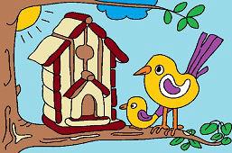 Dom dla ptaków