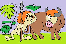 Człowiek i byk