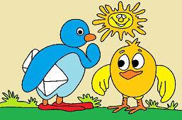 Pingwin i kurczak