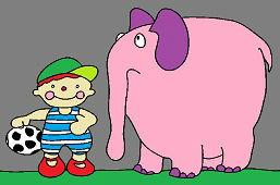 Janek i osierocone słonie