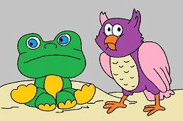 Żaba i sowa