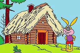 Stary domek w lesie