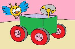 Wózek z papieru