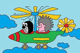 Krecik i helikopter