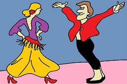 Hiszpański tancerzy