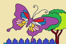 Egzotyczny motyl