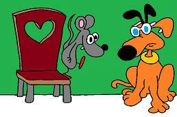 Myszka i pies