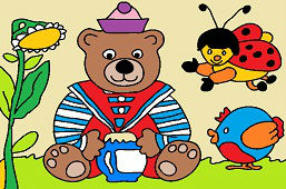 Miś Teddy marynarz