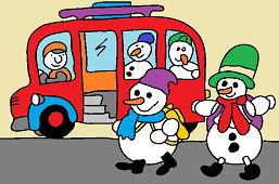 Autobus dla bałwanów