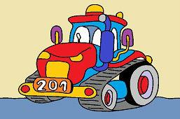 Traktor gąsiennicowy